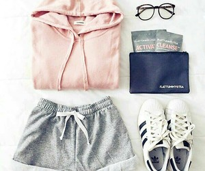 clothes, outfit, and adidas image