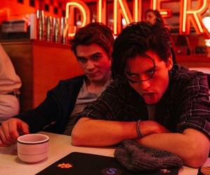 boys, cole sprouse, and riverdale image