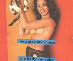 my pussy my choice., equality., and feminism. image