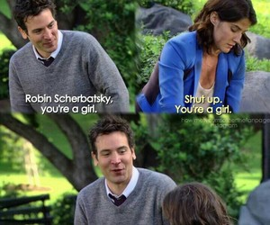 himym, how i met your mother, and robin scherbatsky image