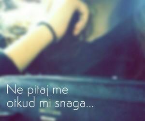 girl, snaga, and sad image