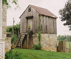 barn, farm, and pretty image