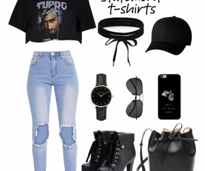 accessories, boots, and choker image