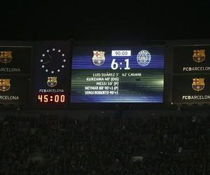football, soccer, and fc barcelona image