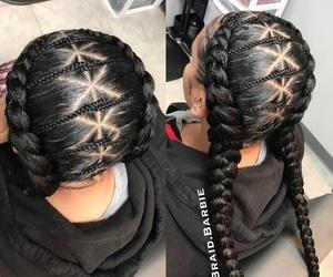curls, bundles, and box braids image