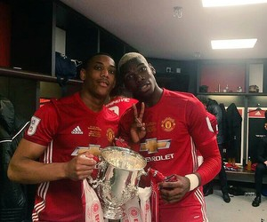 manchester united, paul pogba, and anthony martial image