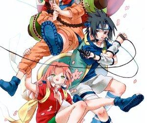 sasuke uchiha, uchiha sasuke, and naruto uzumaki image