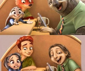 zootopia and judy and nick image
