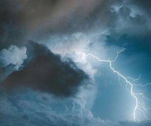 thunder, clouds, and nature image