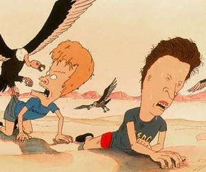 90's, beavis and butthead, and cartoons image
