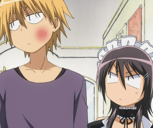anime, misaki, and maid sama image