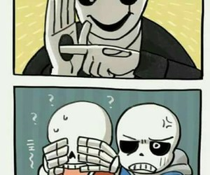 papyrus, sans, and gaster image
