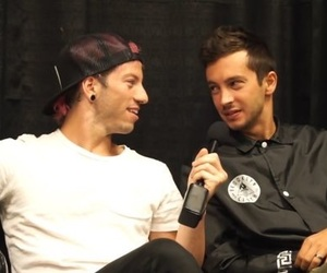 joshler, top, and twenty one pilots image