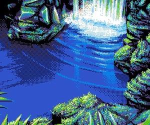 pixel, nature, and pixel art image