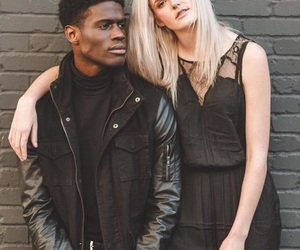 african american, black, and blonde image
