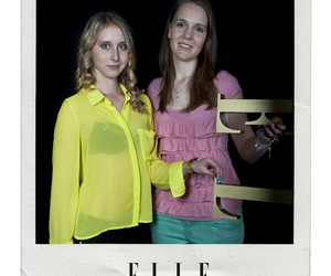 Elle, inspiration, and neon image