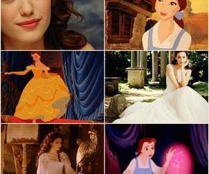 beauty and the beast, belle, and emmy rossum image