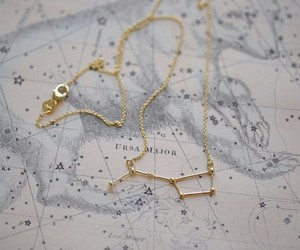 stars, necklace, and constellation image
