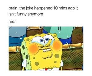 funny, me, and spongebob image