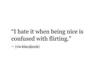 confused, flirting, and hate image