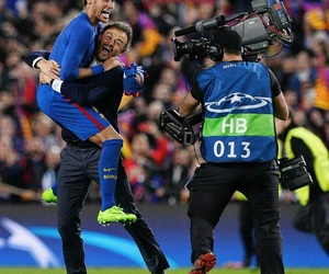 neymar and luis enrique image