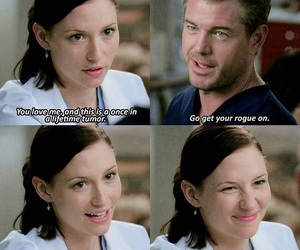 lol, grey's anatomy, and mark and lexie image