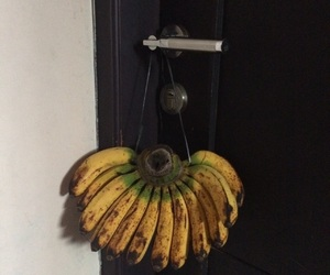 aesthetic, banana, and black image