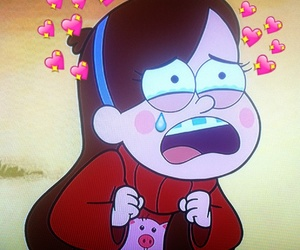girl, mabel, and gravity falls image