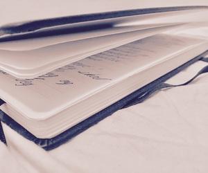 book, diary, and handwriting image