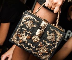 bag, D&G, and fashion image