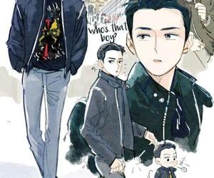 exo, sehun, and fanart image