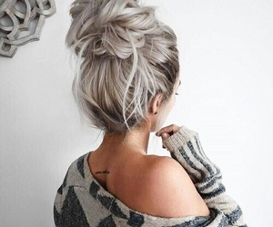 hair style, girls, and hair image