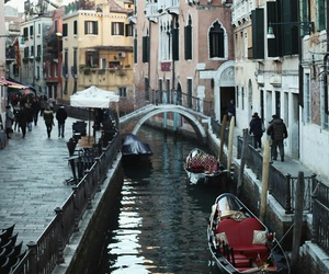 happy, venice, and italy image