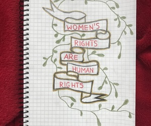 feminism, girl power, and human rights image