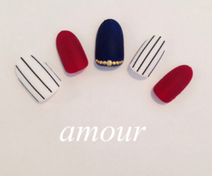 blue, moda, and nails image