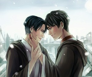 anime, shingeki no kyojin, and love image