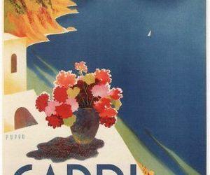 capri, italy, and travel image