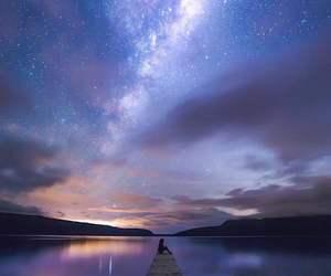 adventure, galaxy, and lake image