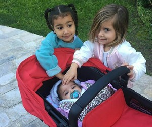 north west, dream kardashian, and penelope disick image