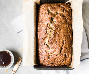 banana bread, bread, and food image