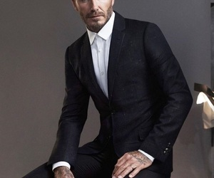 David Beckham, man, and model image