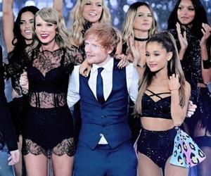 ariana grande, ed sheeran, and Taylor Swift image