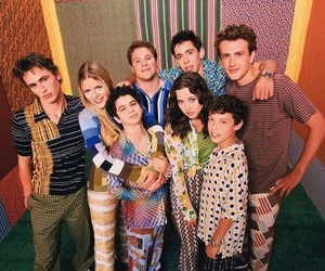 freaks and geeks, james franco, and seth rogen image