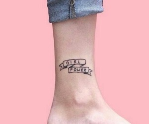 tattoo, girl, and girl power image