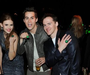 lydia, teen wolf, and dylan obrien image