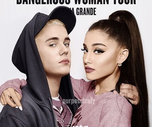 girl, tour, and ariana grande image