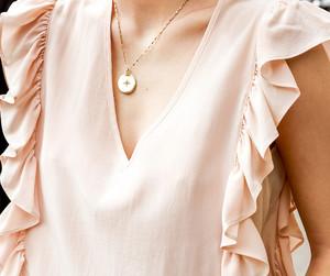 fashion, anine bing, and light pink image