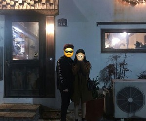 asian, couple, and faceless image