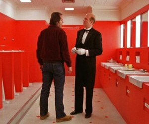 red, Stanley Kubrick, and The Shining image
