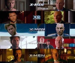 wolverine, x-men, and charles xavier image